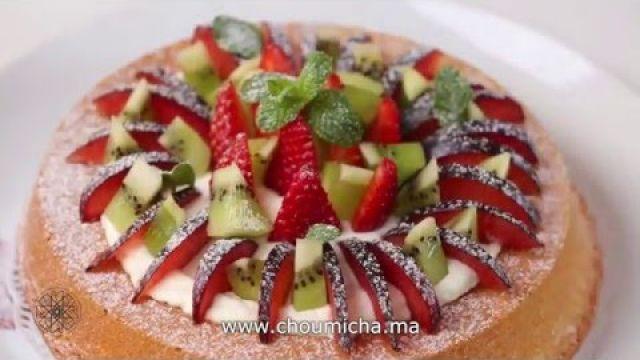 Choumicha : Cake aux fruits   شميشة : كيك بالفواكه