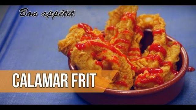 Recette : CALAMAR FRIT [ Pâte à Frire ] (Recette du Ramadan)