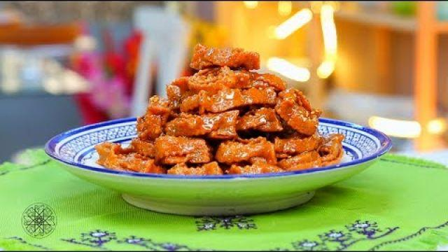 M'kharqa ( Chebakia ) - Recettes Ramadan