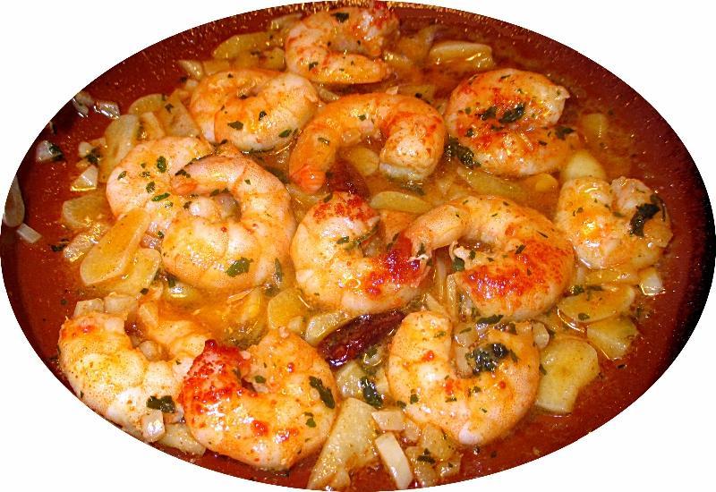 Crevettes à l'ail - Recette originale à l'espagnole