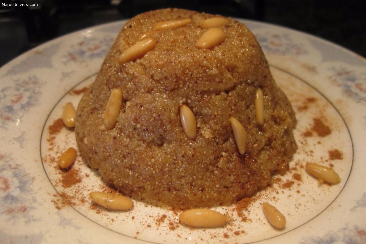 Dessert à la semoule (Irmik Helvasi )