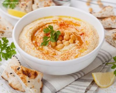 Hummus (trempette de pois chiches)  à la libanaise