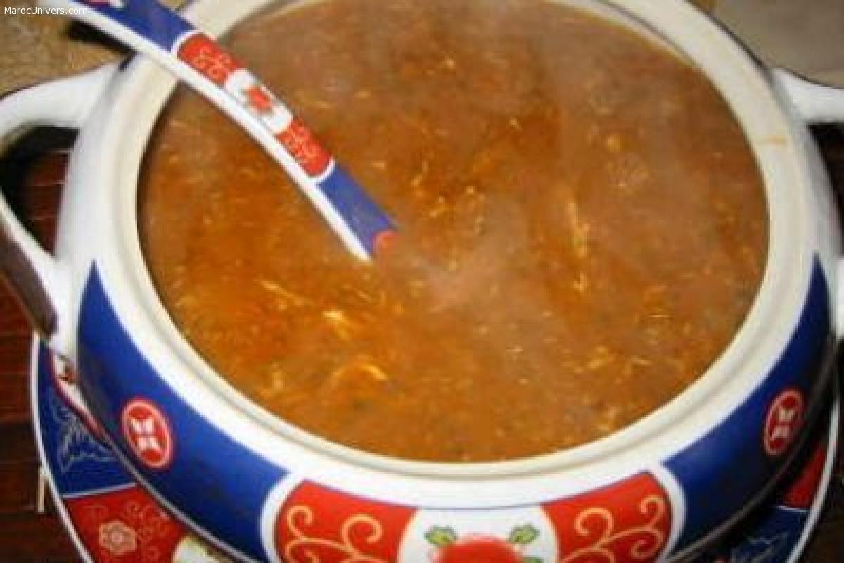 Soupe: Harira Marocaine