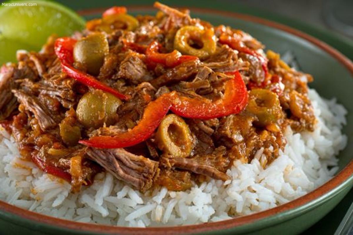 Jarret de boeuf au riz