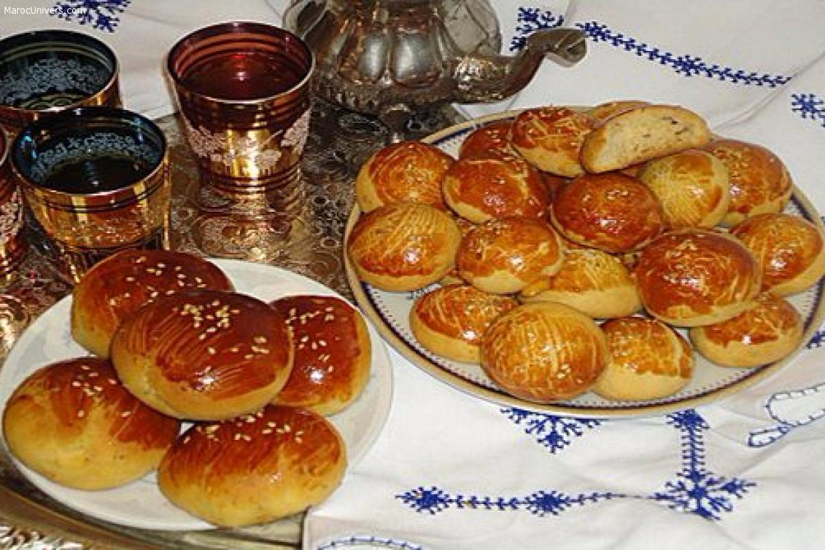 Krachels (brioches à la marocaine)