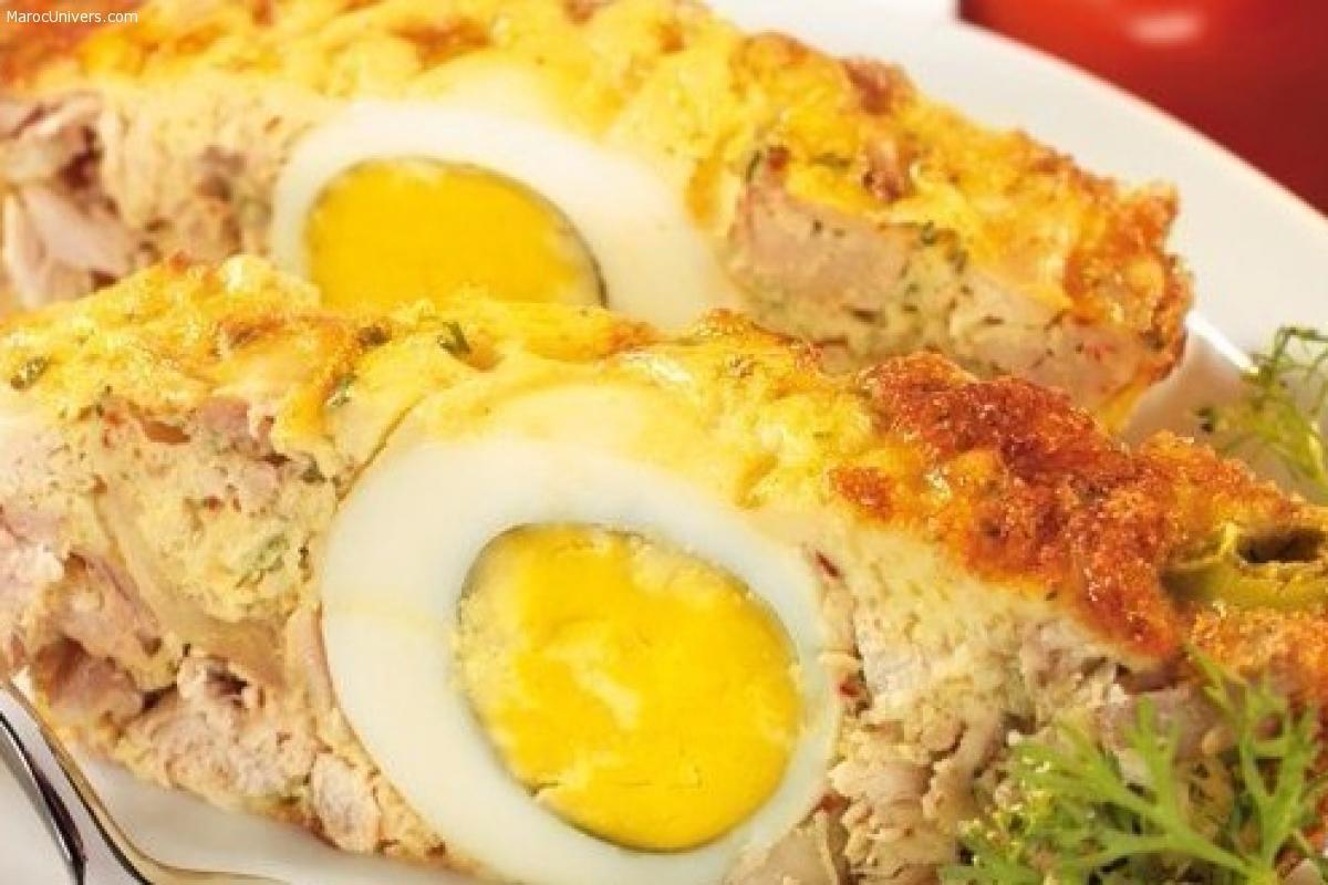 Maâqouda au poulet