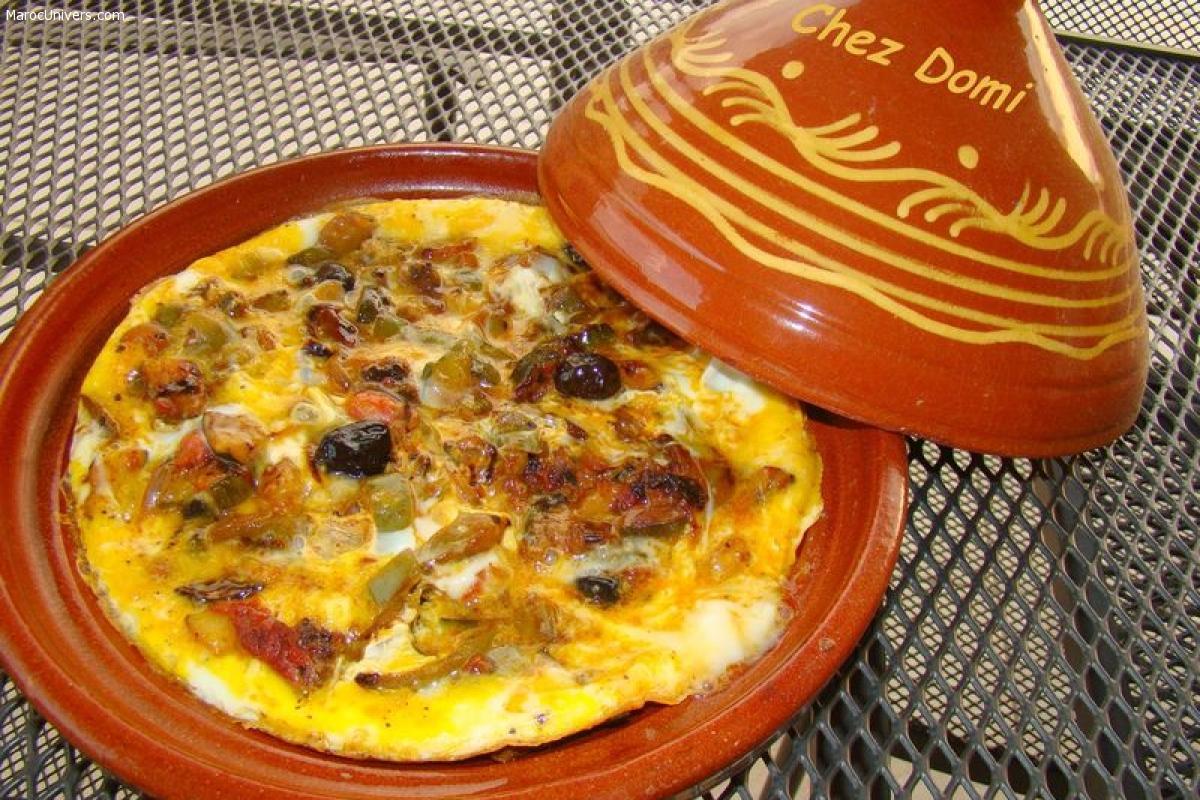 Omelette berbère