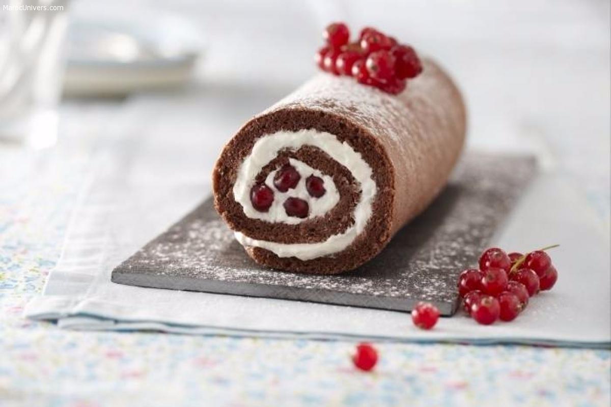 Recette de Gâteau roulé au chocolat