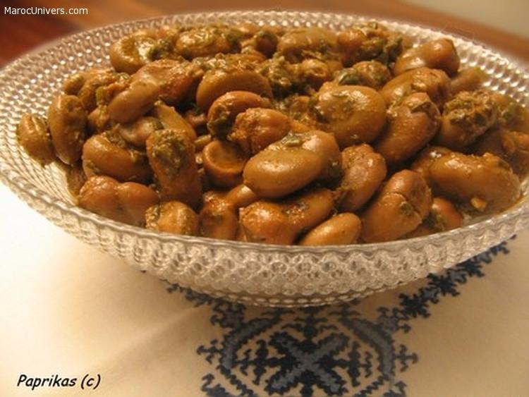 Recette Feves à la marocaine