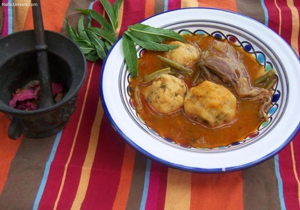 Recette Lasbanne (boulettes de semoule berbères)