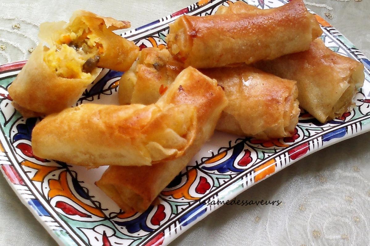 Recette : Rouleaux de Pastilla aux Fruits de Mer