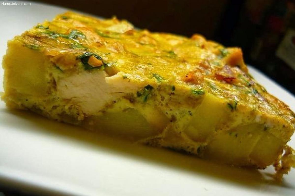 Tajine Jben - Tajine tunisien au fromage
