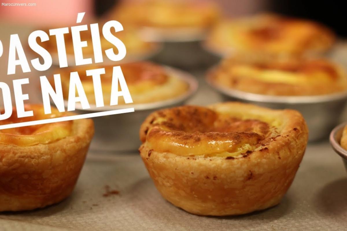 Tartelette portugaise Pasteis de Nata