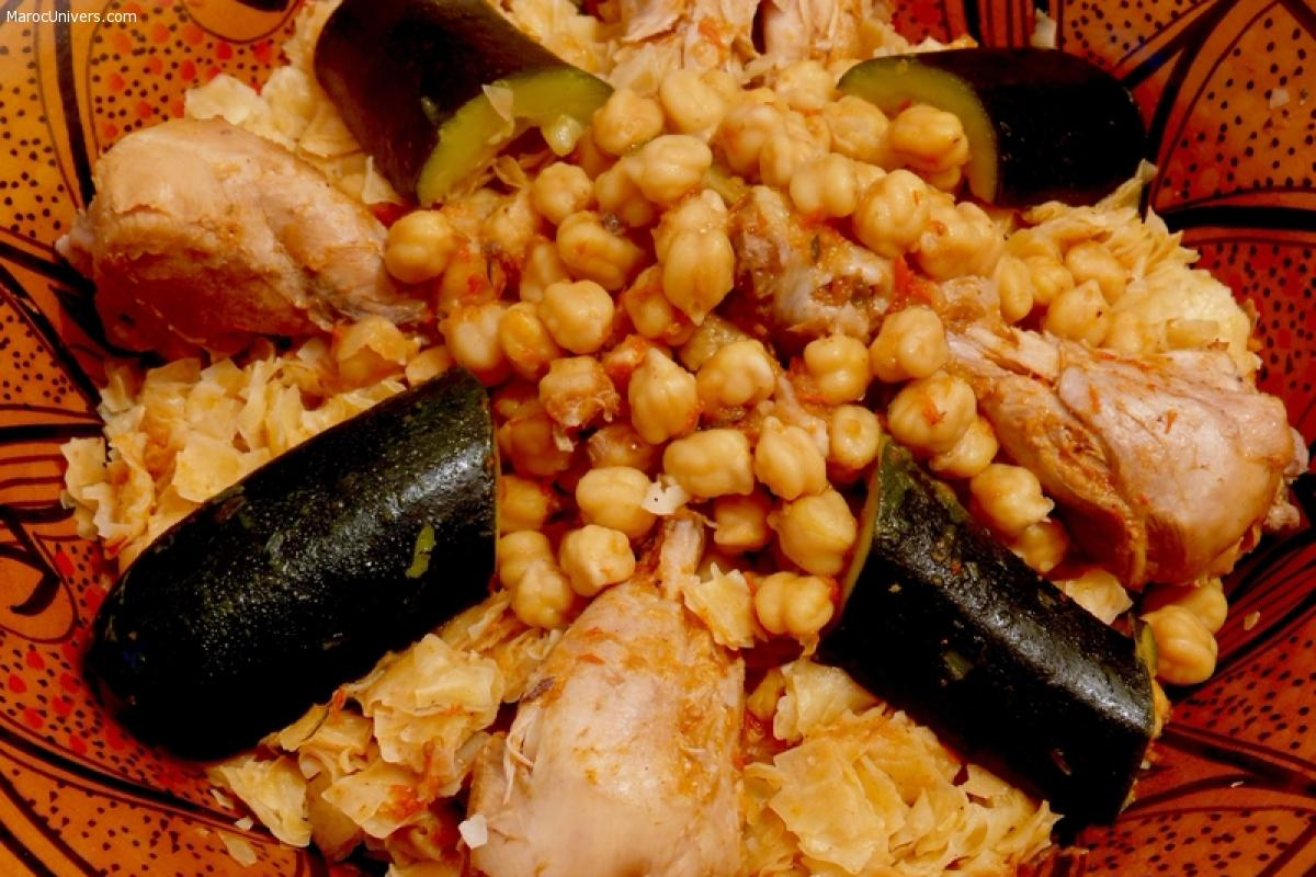 Trida : recette traditionnelle algérienne