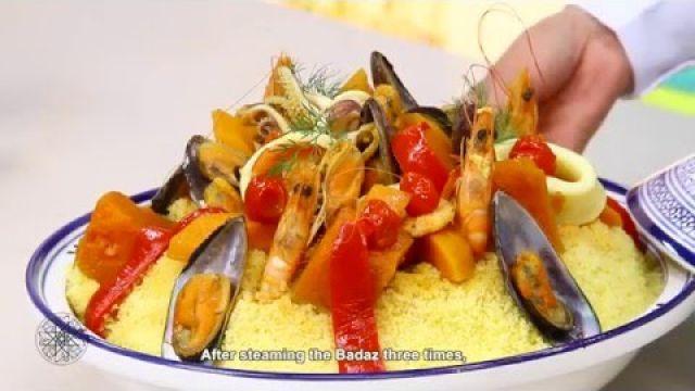 Choumicha : Couscous de Maïs (Baddaz) aux Fruits de Mer | Seafood Couscous