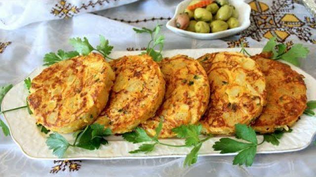 فطائر البطاطس لذيذة جدا?في دقائق بدون فرن وفي الفرن سهلة والاهم اقتصادية كوجبة عشاء او غذاء روعة.