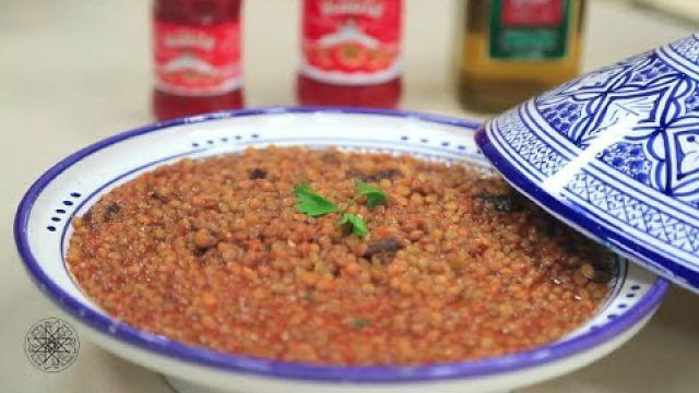Choumicha : Lentilles à la sauce tomate | شميشة : عدس بصلصة الطماطم
