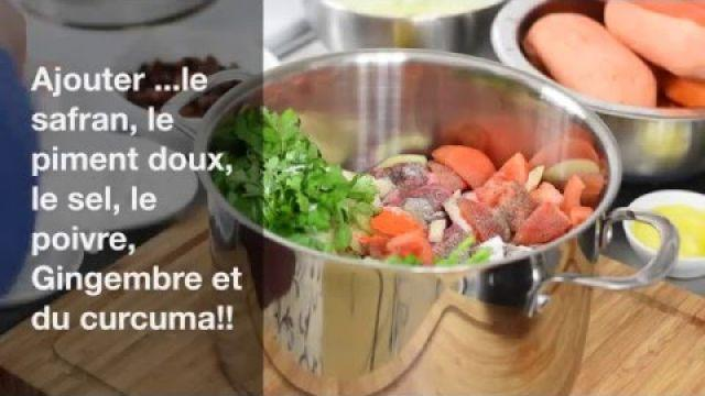 Comment faire un délicieux CousCous Marocain