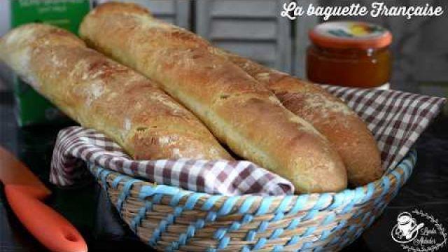 Je n'achète plus de pain! recette de baguettes françaises maison croustillantes sans moule
