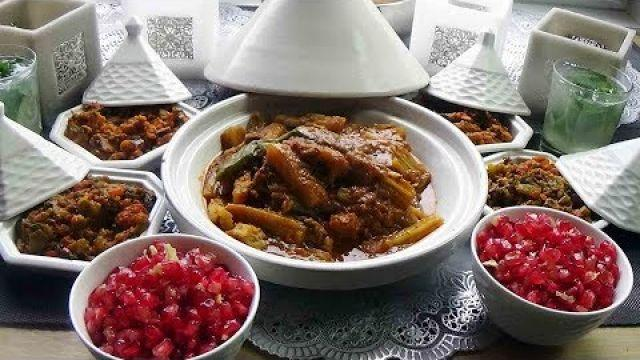 Tajine de cardons et salades Marocaines: Repas de saison bénéfique