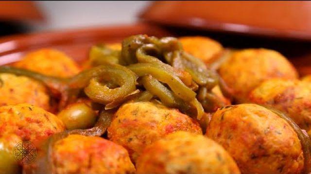 شميشة : طاجين كويرات الدجاج بصلصة الطماطم والزيتون | طاجين كويرات الدجاج بالبصل والعنب المجفف