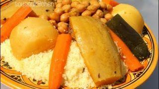 Recette de Couscous au Boeuf-كسكس بلحم البقر/Couscous with Beef-Sousoukitchen