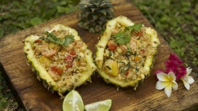 [ARB] الأرز بالأناناس / Pineapple fried rice