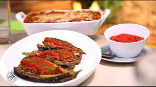 Choumicha : Gratin d'aubergines & Aubergines farcies à la viande hachée