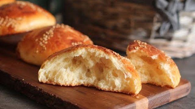 Petits pains briochés sans pétrissage