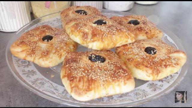 Recette : Msemen Farcis au poulet - Rghaif - Crêpes feuilletées au four
