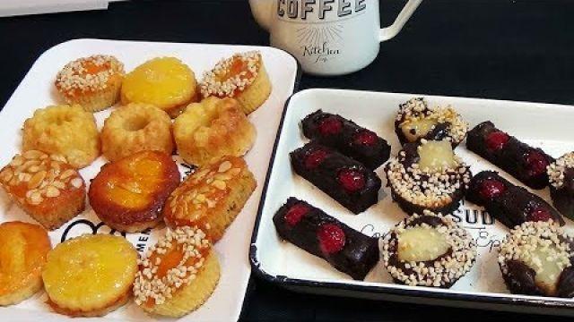Un goûter facile et délicieux 7 gâteaux avec la même pâte