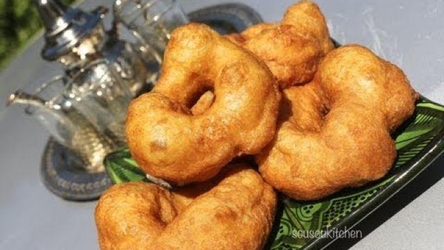 Sfenj-الشفنج Moroccan Donuts-Doughnuts/Beignets Marocains Chfenj, الشفنج-Sousoukitchen