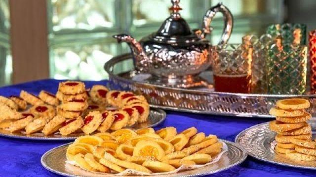 Recette de Bechkito - sablés au citron et  à la confiture - Gâteau marocain -  بسكويت بالمربى