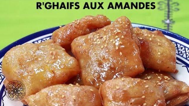 Choumicha : R'ghaifs aux amandes