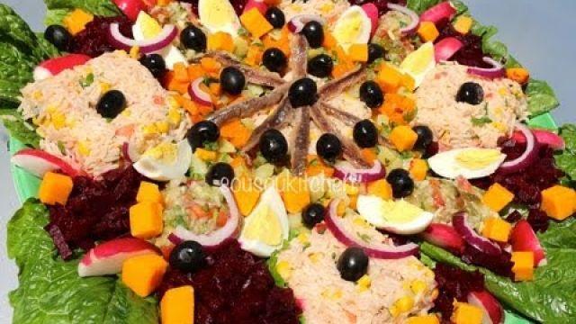 Recette de Salade variée marocaine