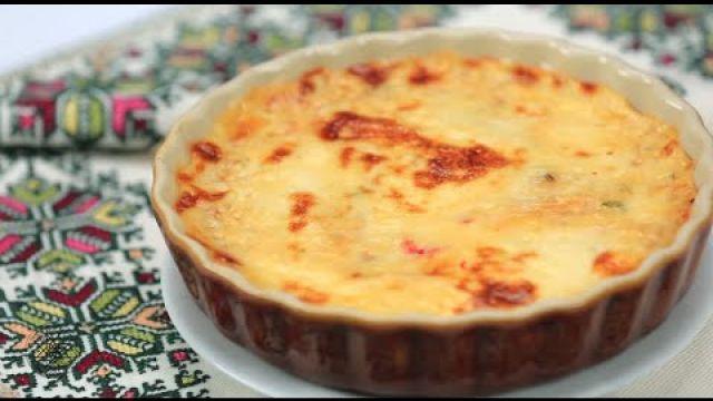 Choumicha : Gratin de pomme de terre aux anchois et poivron rouge
