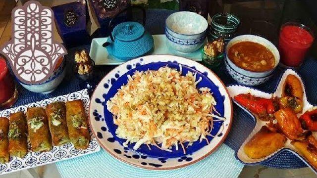 Menu Ramadan Ftour et shour simple rapide et équilibré