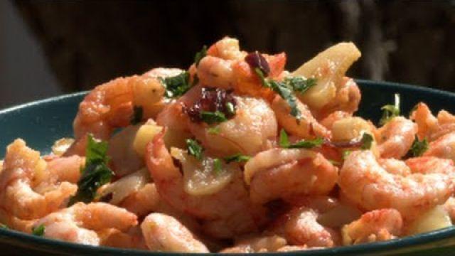 Crevettes à l'ail, à l'espagnole