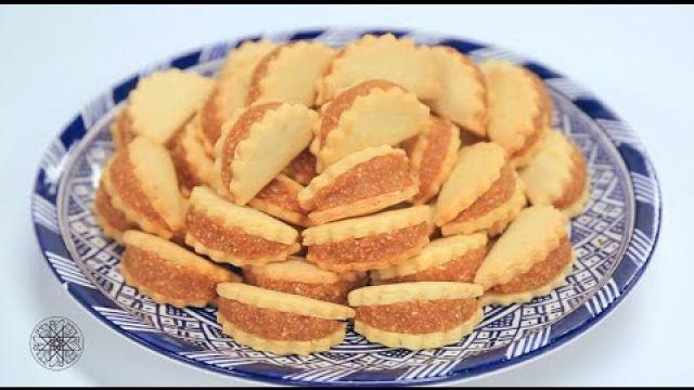 Biscuits fourrés aux cacahuètes | عين وحاجب - بسكويت محشو بالفول السوداني