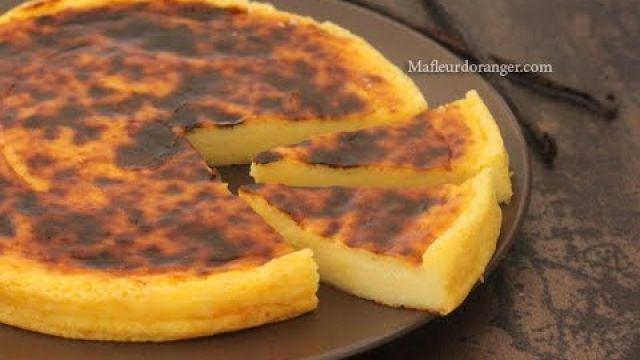 Flan pâtissier sans pâte - recette facile