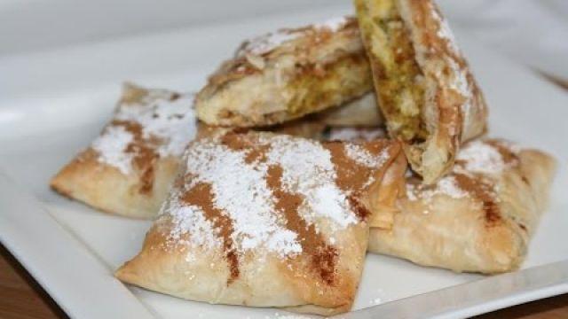 Mini Pastilla au Poulet (Recette Marocaine) - Mini Chicken Pastilla - البسطيلة المغربية بالدجاج