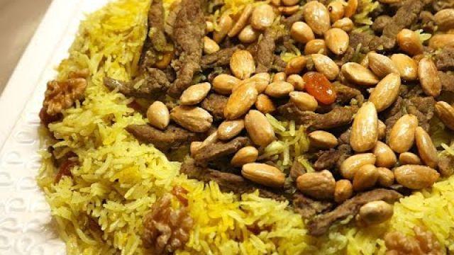RIZ a l'émincé De Boeuf متعي عائلتك بوجبة أرز باللحم لذيذة و سهلة و في المتناول
