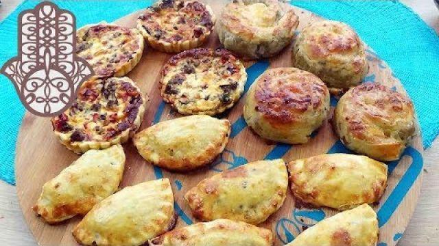 3 feuilletées salées à la viande hachée pour ramadan