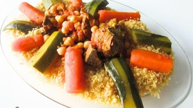 Couscous marocain traditionnel Facile et rapide