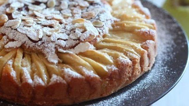 Gâteau aux pommes  facile - كيك التفاح سهل و رائع