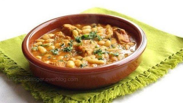 Recette des haricots blancs à la marocaine: loubia / Moroccan White Beans recipe