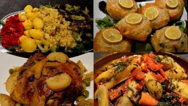 Menu complet pour un Diner a la Marocaine ✮✮✮