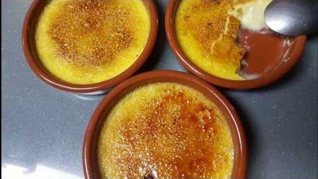 Crème brûlée simplifiée et inratable à la fleur d'oranger