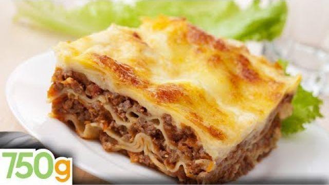 Recettes de lasagne bolognaise maison