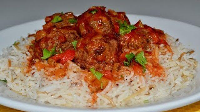 Daoud Basha (lebanese meatballs) طريقة عمل داوود باشا